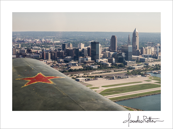 Aerial photo of Cleveland