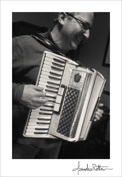 John Marazita, accordion