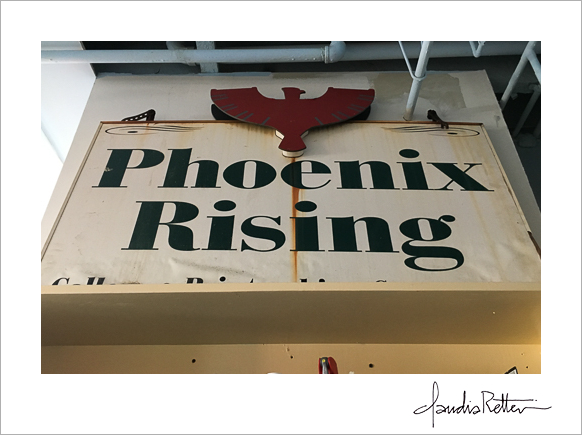 Phoenix Rising's old sign