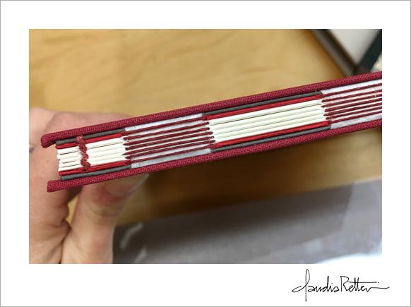 Exposed-tape binding
