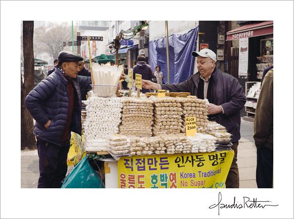 Seoul street vendor