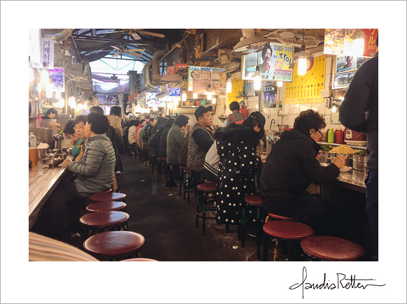 Seoul lunch counter
