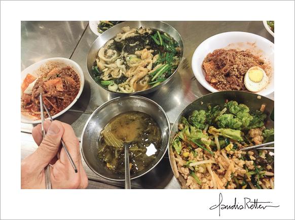 Seoul lunch