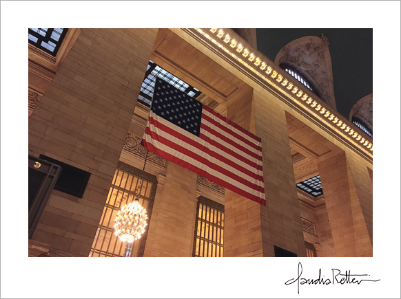 American Flag, Grand Central Station