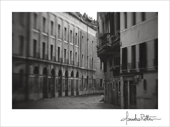 Quiet street in Venice