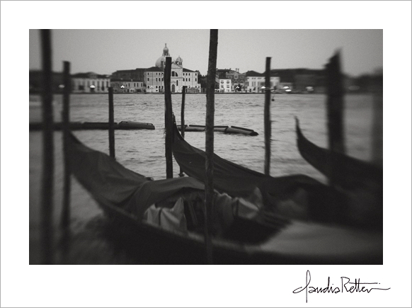 Gondolas at San Marco