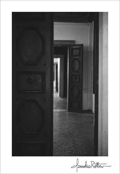 Ca' Zenobio doorways