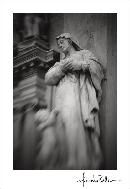 Statue at Madonna del Orto