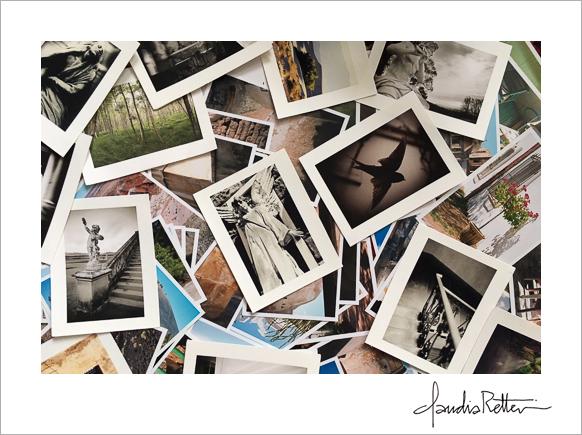 A pile of photos