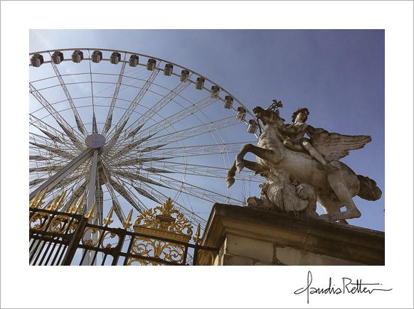 Paris Ferris wheel, Tuileries