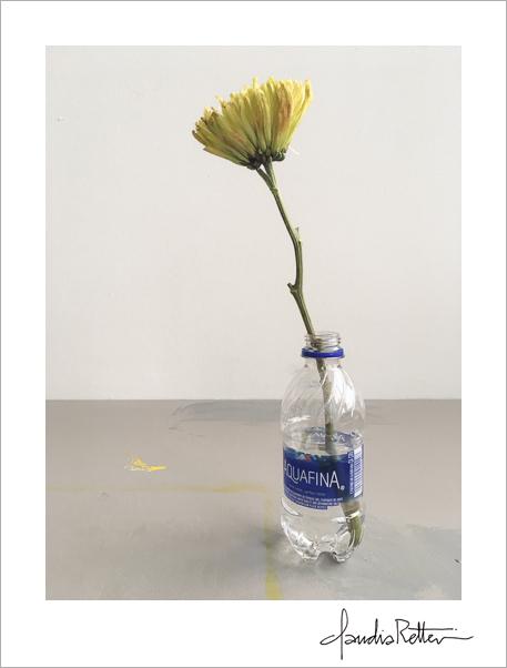 Impromptu flower vase