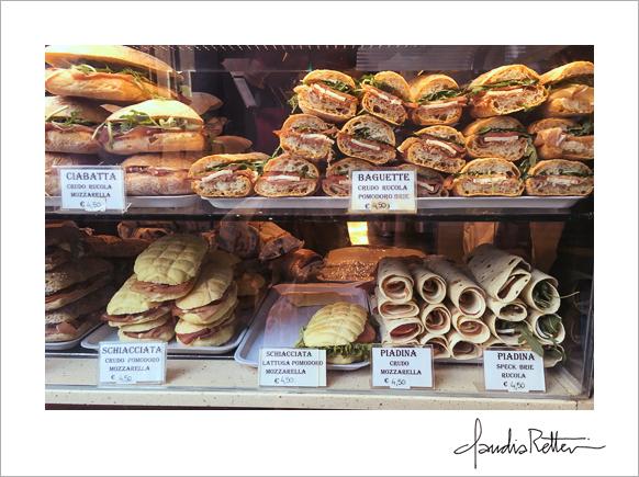 My favorite Venetian sandwich shop