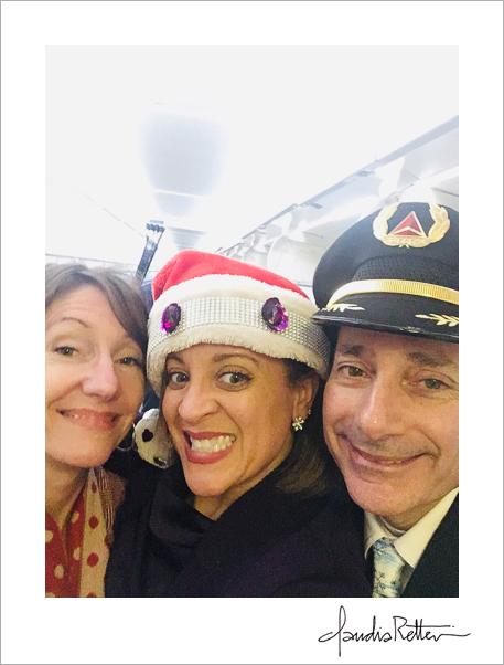 Delta Airlines selfie