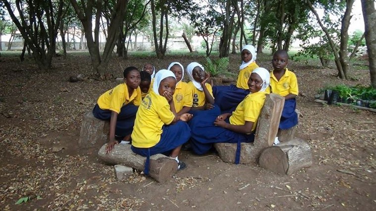 In 2014 we hope to give children in Accra like the girls of the Achievers Book Club in Nima more opportunities to be in a natural environment. The ABC aims to educate girls living in overcrowded urban conditions—  http://achieversbookclub.org/  . picture via Robert Boogaard