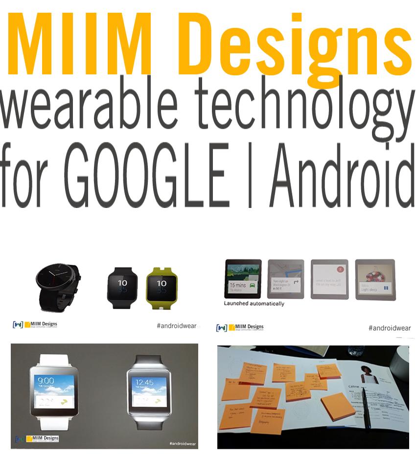 MIIM Designs Google Android Wear
