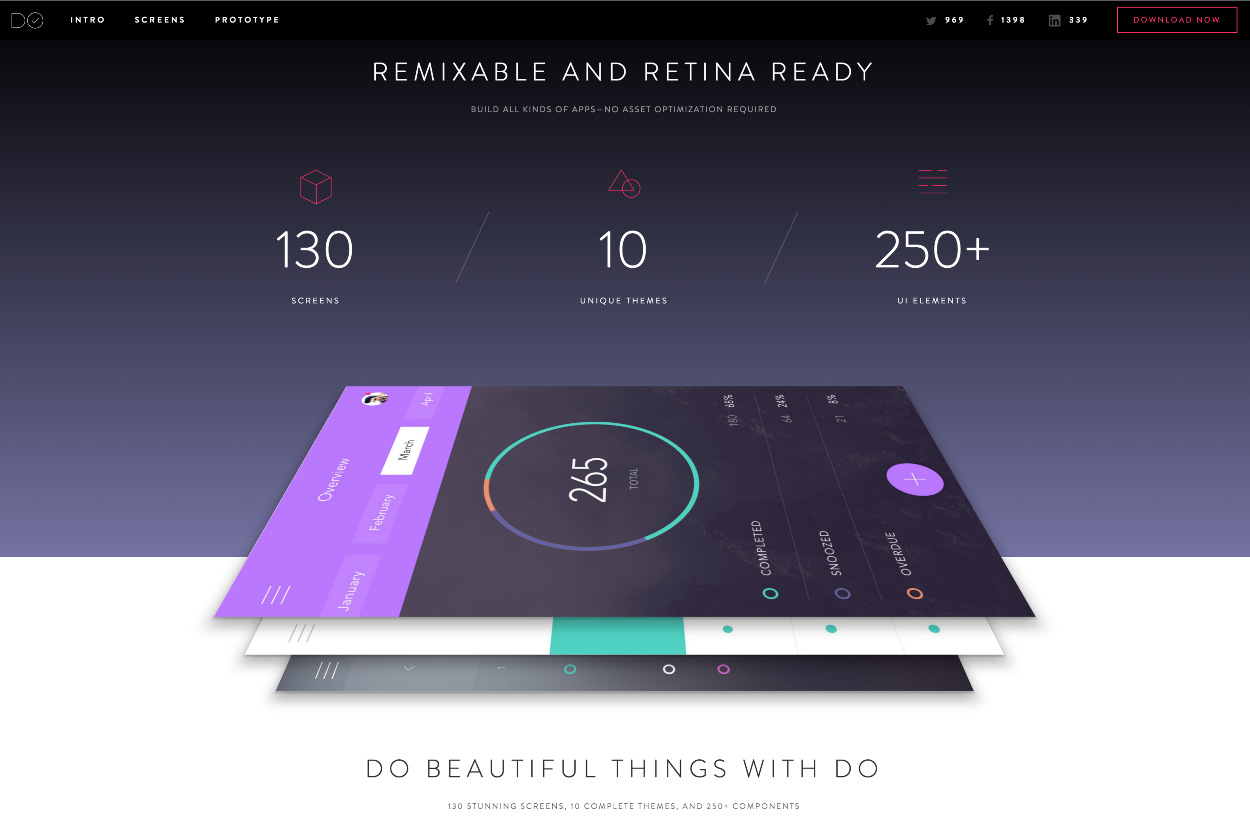 DO UI Kit: The most versatile to-do app UI kit you've ever seen.
