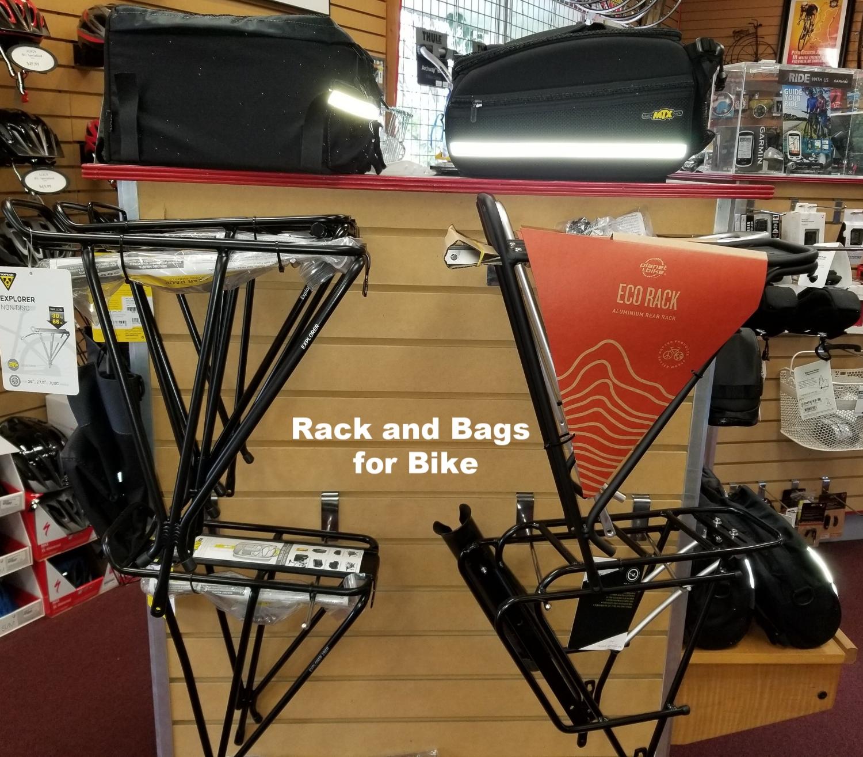 Racks & bags for Bikes