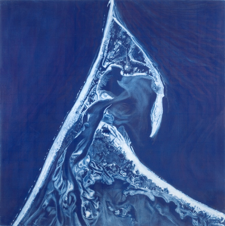 CABO MIRADOR AZUL (CAPE LOOKOUT BLUE), 1999