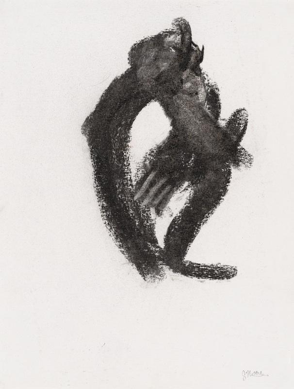 EN CUCLILLAS (ON HIS HAUNCHES), 2006