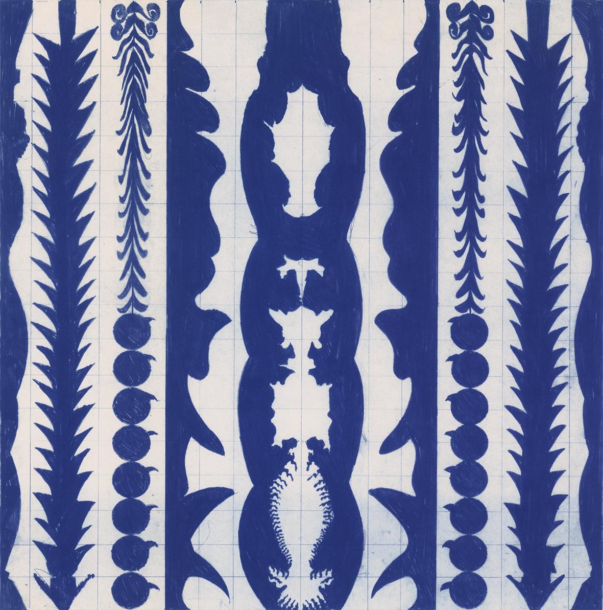 FIGURAS VERTICALES CON FRUTA (VERTICAL FIGURES WITH FRUIT), 1991