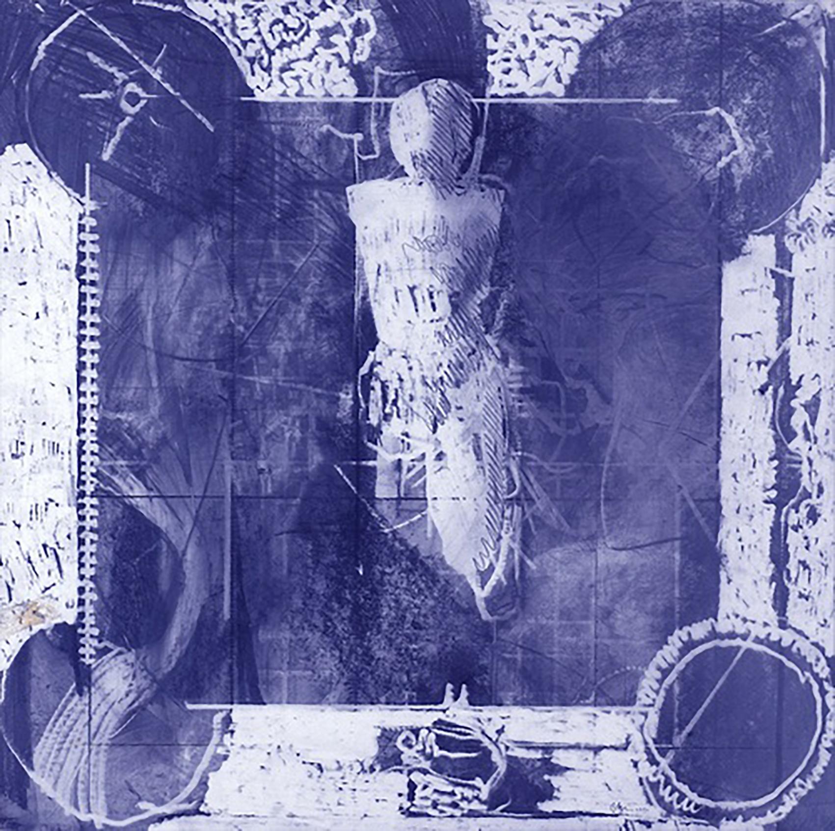 ESTUDIO DEL HOMBRE MICHELINE (MICHELIN MAN STUDY), 1986
