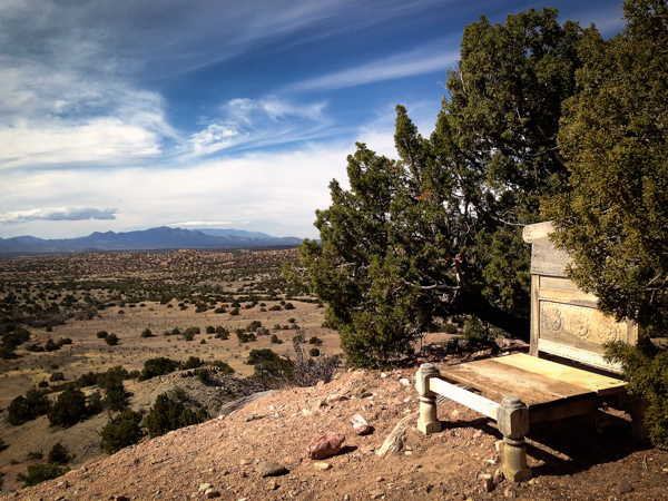 Best seat in the house, found somewhere along Cook's Loop.