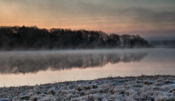 Sunrise on the Slocum River