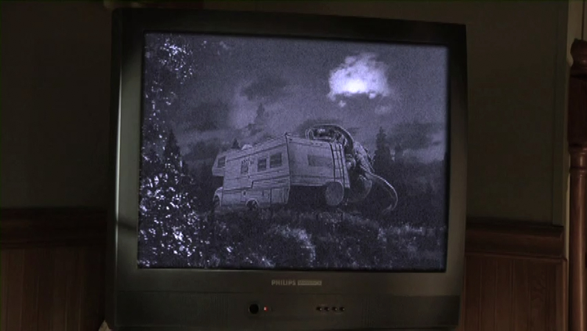 """The best special effects in """"The Dark Sleep"""" are seen in this clip of a 1950's monster movie."""