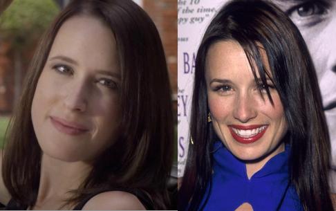 Meg Saricks and Shawnee Smith: Separated at birth?