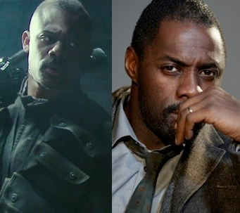 Russell Richardson and Idris Elba: Separated at birth?