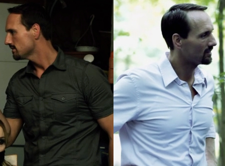 Maybe Richard would be less prone to violence if his shirts weren't so tight.
