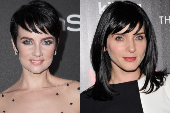 """""""Dracula Reborn"""" actress Victoria Summer and Michele Hicks of """"The Shield."""" Separated at birth?"""