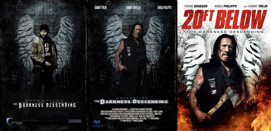 Evolution of a movie poster.