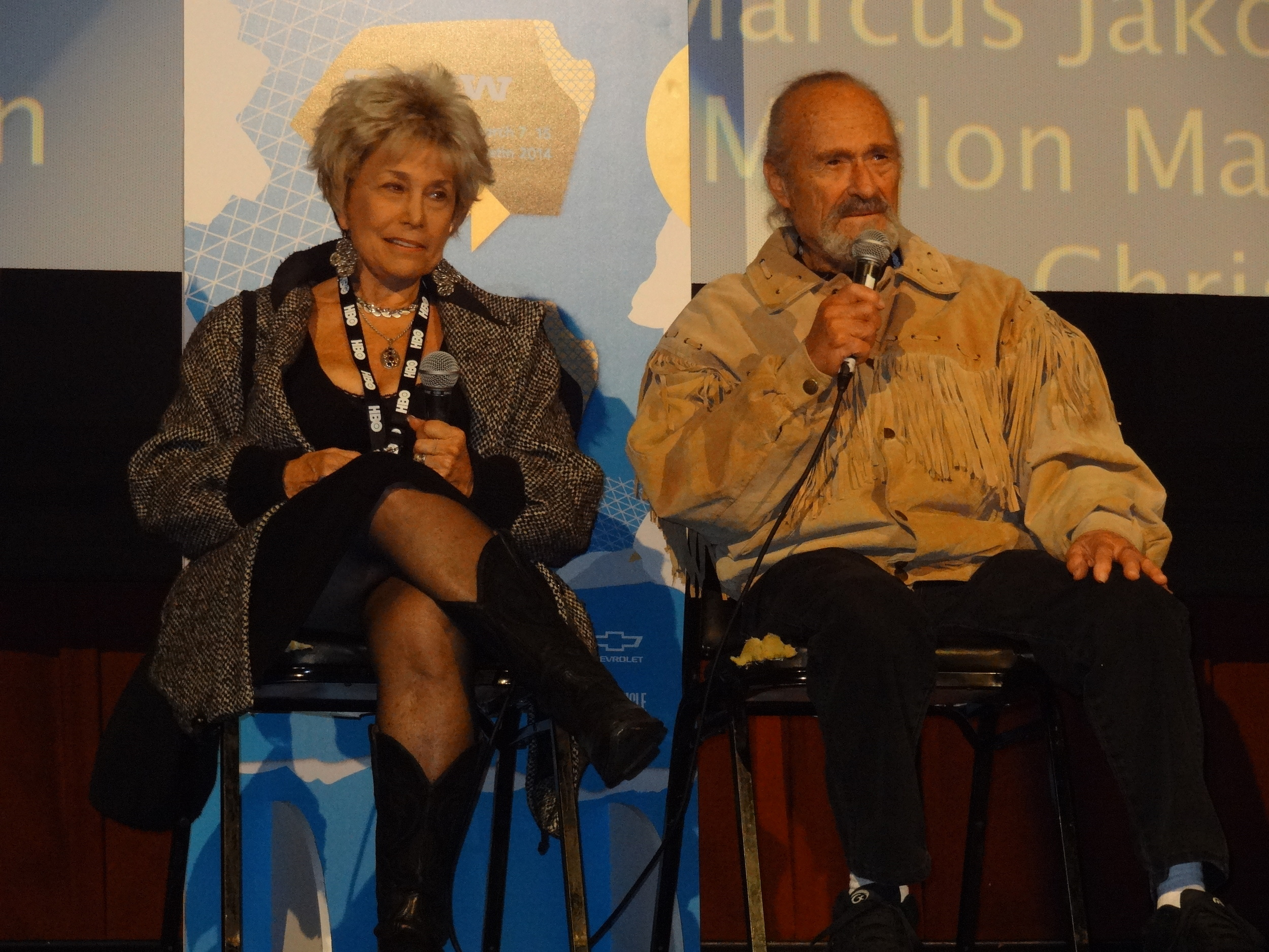 """Dick and Lainie Miller at the SXSW premiere of """"That Guy Dick Miller."""""""