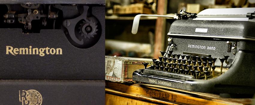 Vintage Remington No.12 typewriter