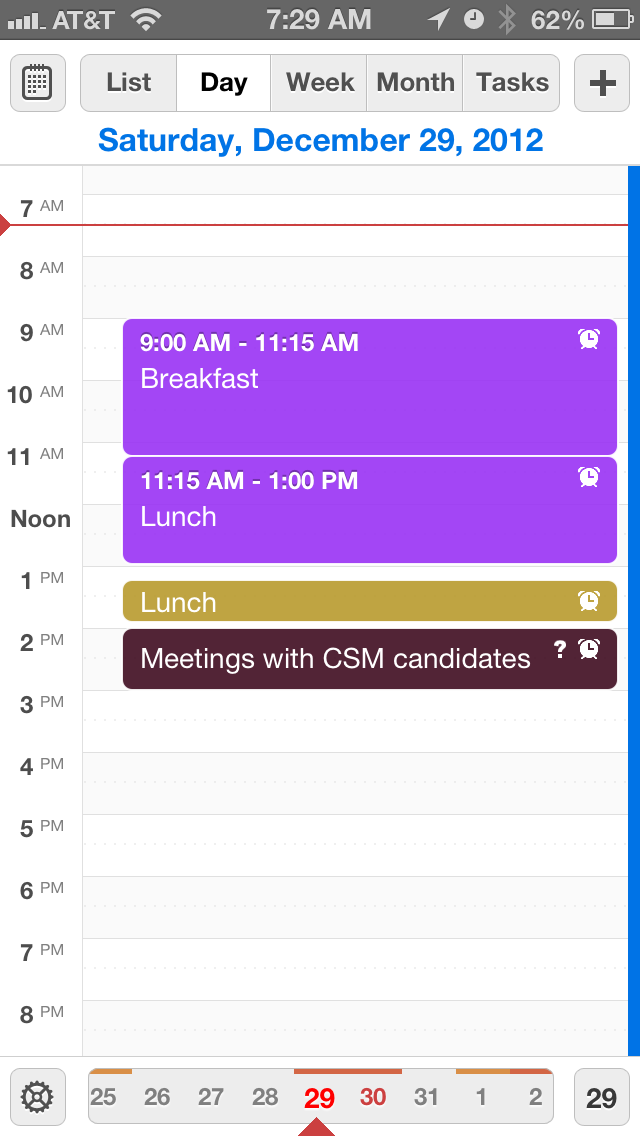 The iPhonaddict Reviews Calendars for iOS - by Readdle