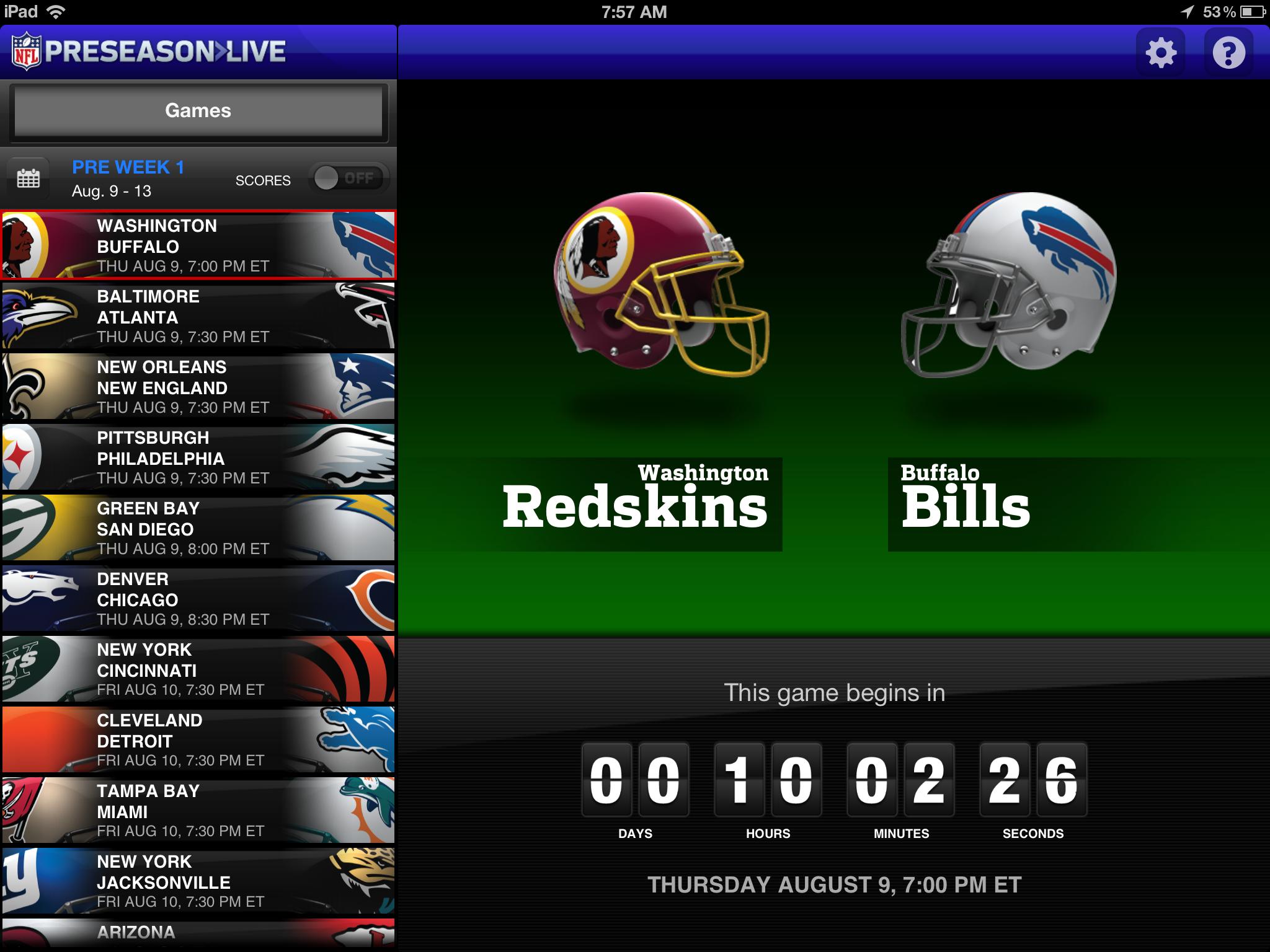 iOSDocked - EP024 - In All Siri-isness/i-Like NFL Preseason Live for iPad