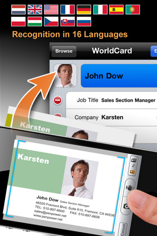 App Review: WorldCard Mobile - A Business Card Scanner With a Killer Feature Set