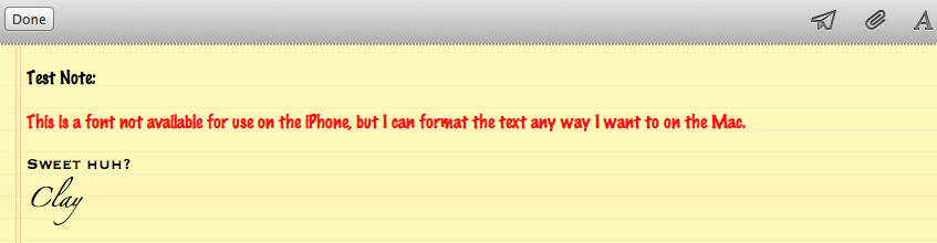 2 Helpful Tips on Using Notes in iOS and OSX