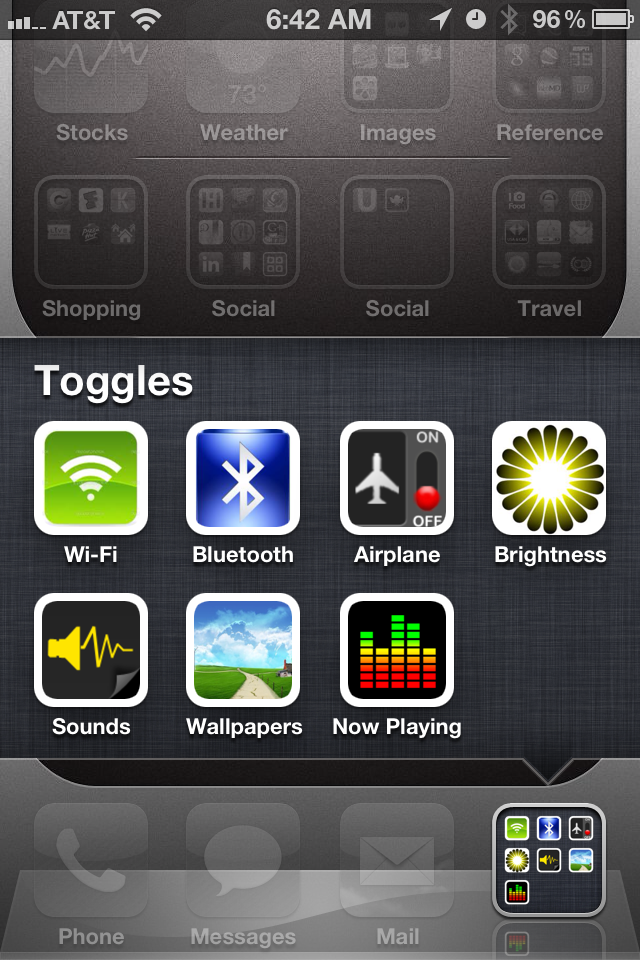 Want Settings Toggles on Your iPhone's Homescreen Without Jailbreaking?