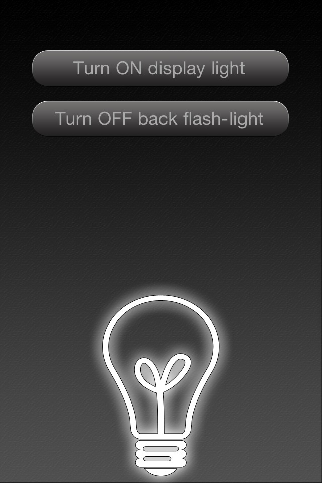 So you got that new iPhone 4 right? If not, you've pre-ordered, right? If not, you are at least saving for one, right?  Ok. Well the new iPhone 4 has an LED flash for all your low light picture taking. But Apple has decided to allow 3rd party app developers to use the LED flash in their own app.   Check out Dazzling Flashlight 4g in the App Store for just $0.99.    http://itunes.apple.com/us/app/dazzling-flashlight-4g/id379866962?mt=8    Its useful. It's beautiful. It's affordable.