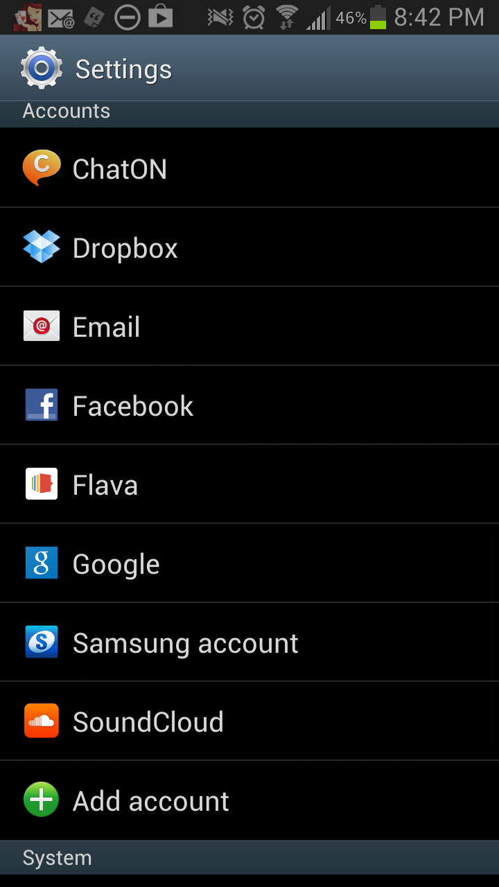 An androidXperience - The Galaxy Note 2 - Part 2 - The Settings Menu