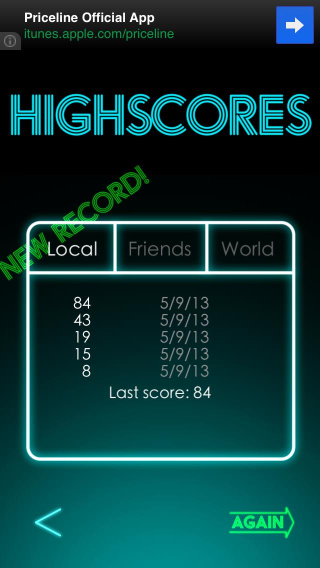 High Scores Falldown! 2