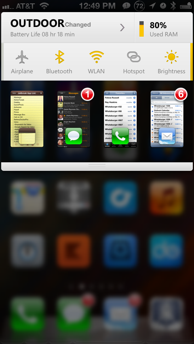 BatteryDoctor Pro:  It's so awesome it gets 2 screenshots.