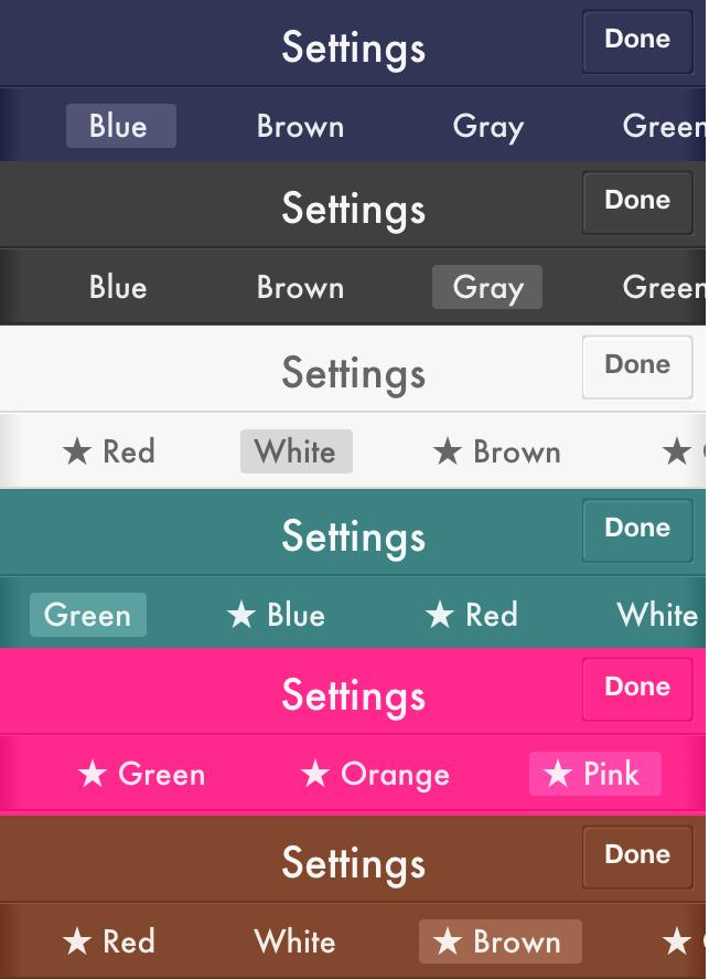 Color Options 1