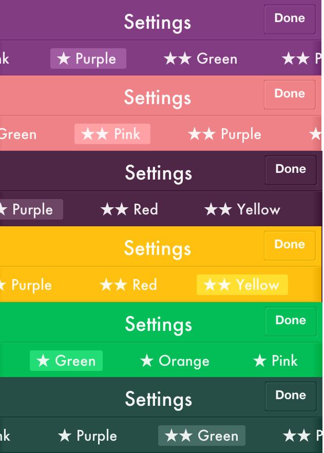 Color Options 2