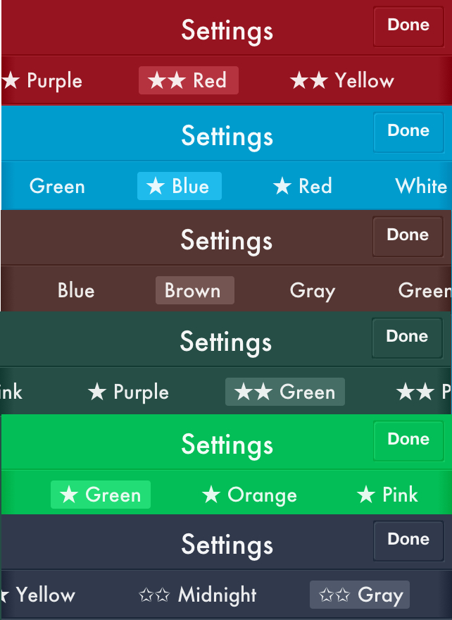 Color Options 3