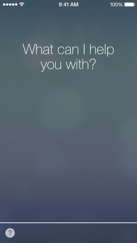 Siri  - New design, new voice, new options. Siri can now access your system settings and includes Bing & Wikipedia integration.