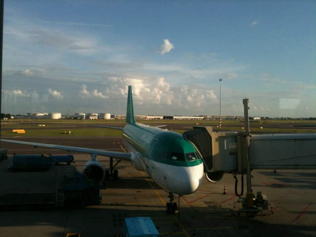 Finally arrived in Dublin