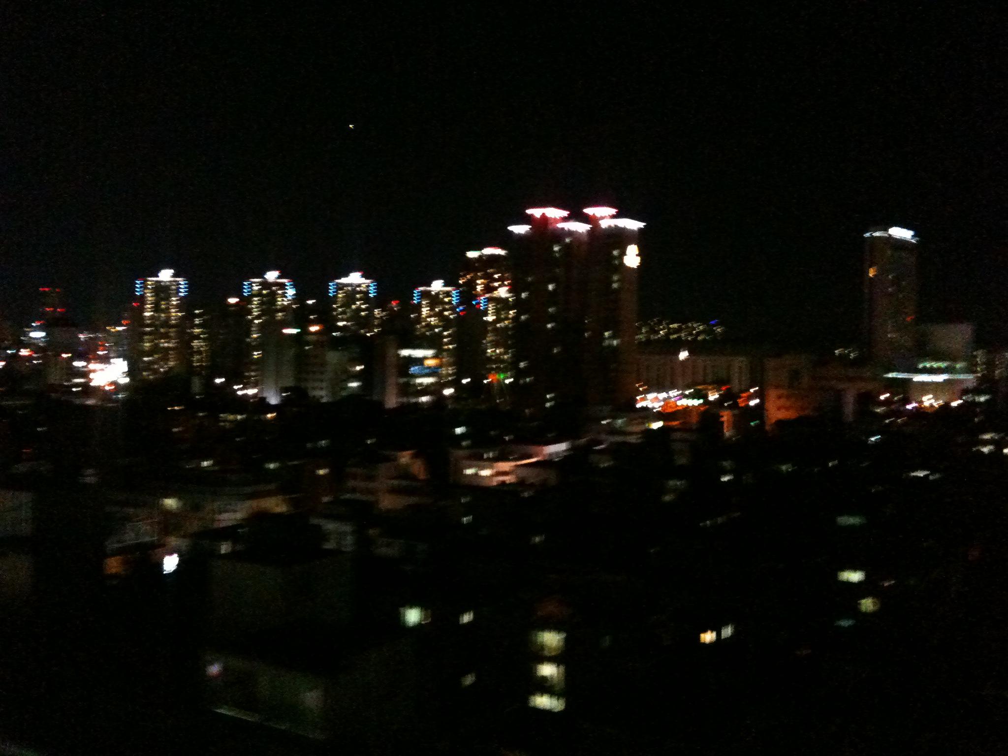 Amazing night views from Seoul.